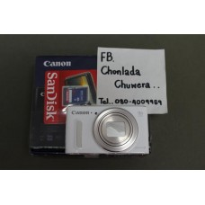 Canon PS SX610HS ใหม่  ขาวสวย ฟังก์ชั่นเพียบ ราคาไม่แพง (นิคมลำพูน)